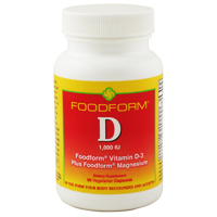 Foodform® Vitamin D3 2,000 IU + Mg